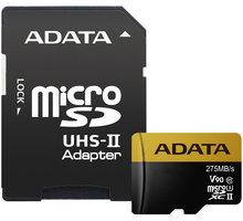 ADATA Micro SDXC Premier One 64GB UHS-II U3 + SD adaptér - AUSDX64GUII3CL10-CA1