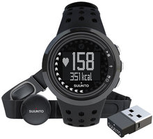 Suunto M5 Men All Black + Movestick Pack - 322705