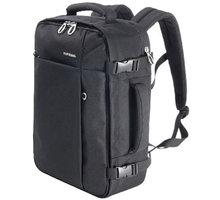 TUCANO Tugo cestovní batoh - kabinové zavazadlo 20 l, černá - TU-BKTUG-M-BK