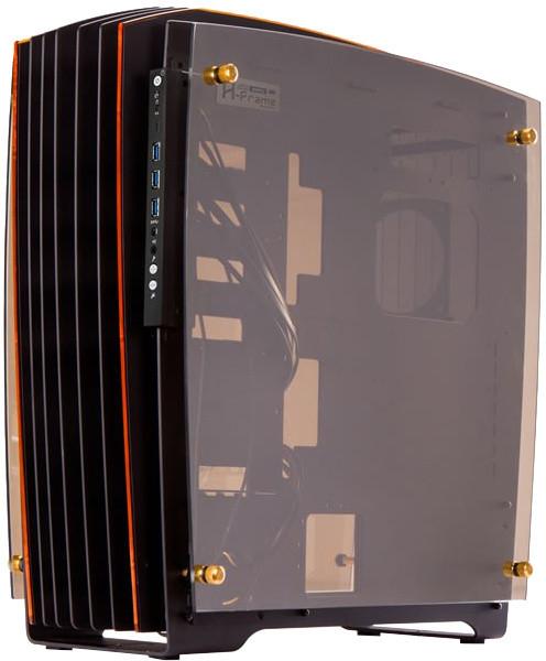 In-Win H-FRAME 2.0, 1065W, black/amber