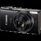 Canon IXUS 285 HS, černá  + Foto pouzdro Vanguard BIIN 6A černá v ceně 249 Kč