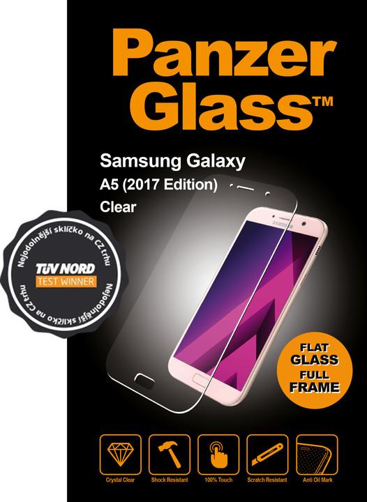 PanzerGlass, ochranné sklo pro Samsung Galaxy A5 (2017) Čirá