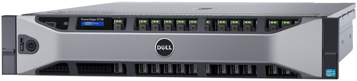 Dell PowerEdge R730 R /E5-2630v4/16GB/300GB SAS 15K/H730/750W/Rack 2U