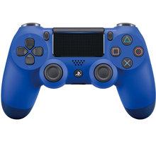 Sony PS4 DualShock 4 v2, modrý - PS719893950