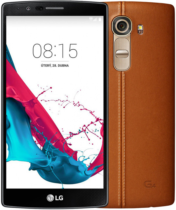 LG G4 (H815), hnědá/leather brown