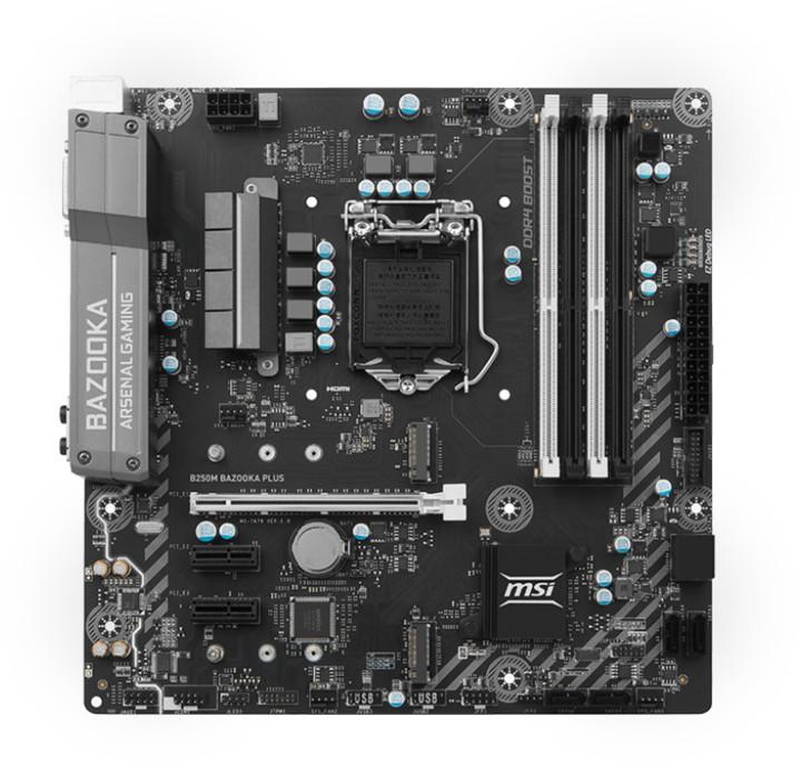 MSI B250M BAZOOKA PLUS - Intel B250