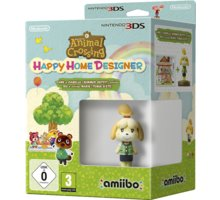 Animal Crossing: Happy Home Designer + Amiibo figurka (3DS)
