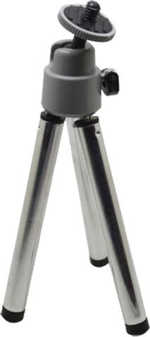Niceboy mini stativ stříbrný