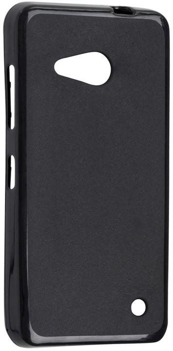 FIXED TPU gelové pouzdro pro Microsoft Lumia 550, černá