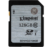 Kingston SDXC 128GB Class 10 UHS-I - SD10VG2/128GB