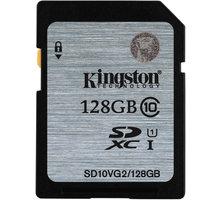 Kingston SDXC 128GB Class 10 UHS-I - SD10VG2/128GB