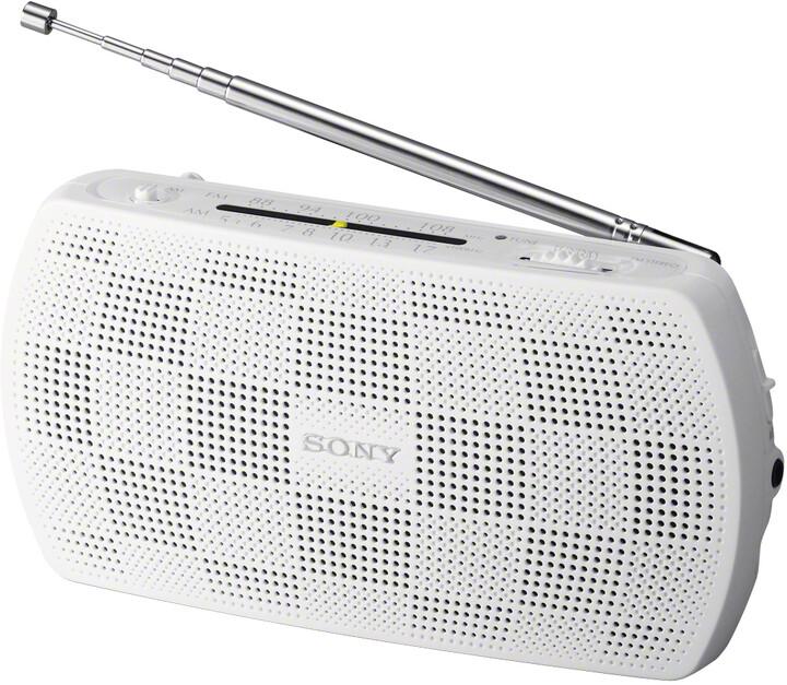Sony SRF-18W, bílá