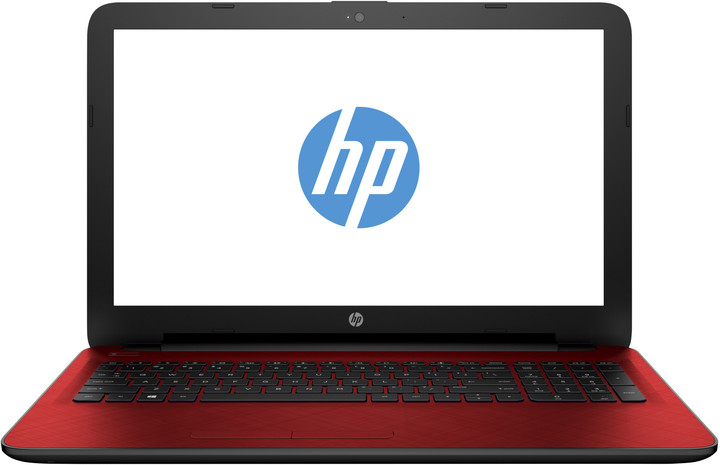 HP 15 (15-ac034nc), červená
