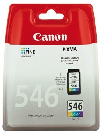 Canon CL-546, barevná