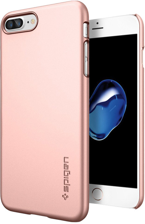 Spigen Thin Fit pro iPhone 7+, rose gold