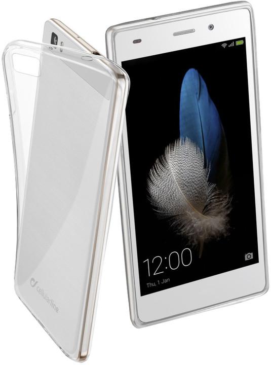 CellularLine zadní ochranný kryt Fine pro Huawei P8 LITE, bezbarvá