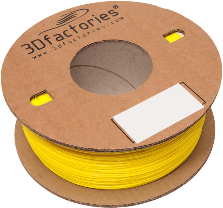 3D Factories tisková struna PLA žlutá 1,75 mm 1 Kg