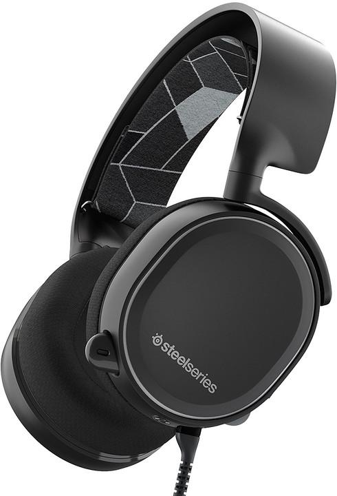 SteelSeries Arctis 3, černá