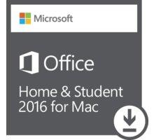 Microsoft Office Mac 2016 pro domácnosti - elektronicky - GZA-00550