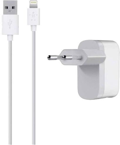 Belkin Home nabíječka s kabelem Apple Lightning, bílá