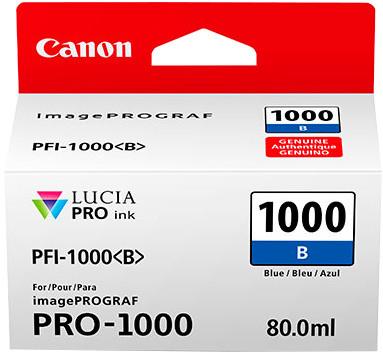 Canon PFI-1000B, blue