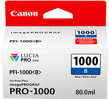 Canon PFI-1000B, blue - 0555C001