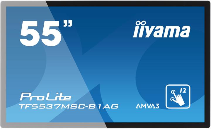 "iiyama TF5537MSC-B1AG - LED monitor 55"""
