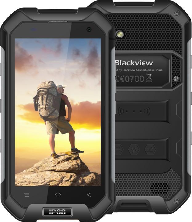 iGET BLACKVIEW BV6000, Dual SIM, LTE, černá