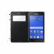 Samsung flipové pouzdro S-view EF-CG355BB pro Galaxy Core 2 (SM-G355), černá