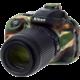 Easy Cover silikonový obal pro Nikon D5300, maskovací
