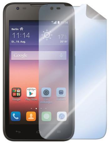 CELLY ochranná fólie displeje pro Huawei Ascend Y550, lesklá, 2ks