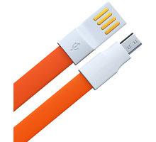 Remax datový kabel USB/micro USB, 1,2m dlouhý, oranžová - AA-847