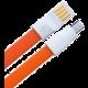Remax datový kabel USB/micro USB, 1,2m dlouhý, oranžová