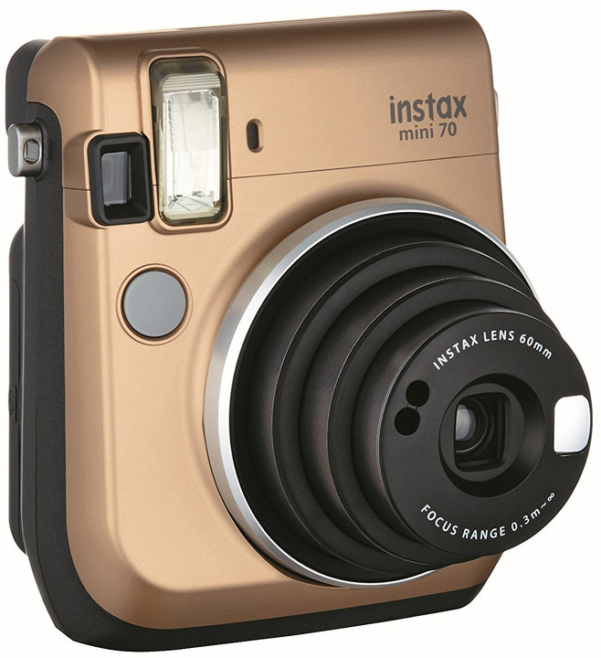 Fujifilm Instax mini 70, zlatá