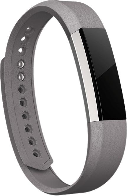 Fitbit Alta náhradní kožený pásek L, grafit