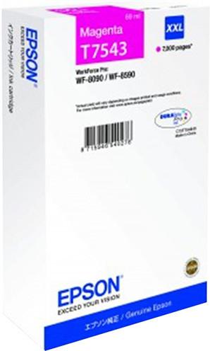 Epson C13T754340, purpurová