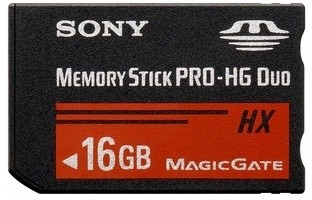 Sony Memory Stick Pro HX DUO MSHX16B 16GB