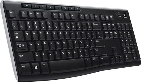 Logitech Wireless Keyboard K270, US