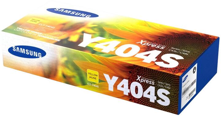 Samsung CLT-Y404S, žlutá