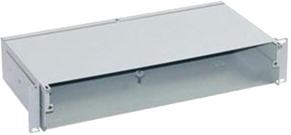 Triton optická vana RAC-FO-X62-A1, 2U, bez čelního panelu, šedá