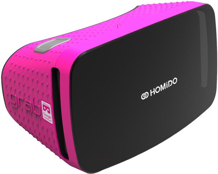 Homido Grab Virtual reality headset - Růžová
