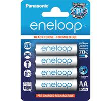 Panasonic 3MCCE/4BE ENELOOP AA 4x 2100c