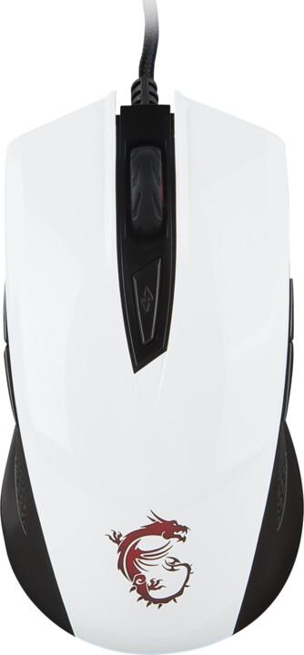 MSI Clutch GM40, bílá