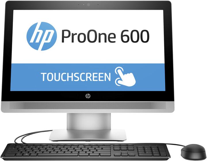 HP ProOne 600 G2 Touch, stříbrná
