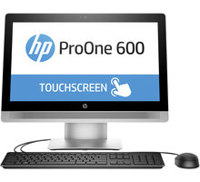 HP ProOne 600 G2 Touch, stříbrná - P1G75EA