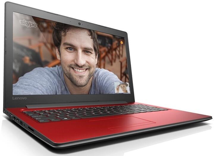 Lenovo IdeaPad 310-15ISK, červená