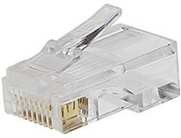 PremiumCord Konektor RJ45, UTP Cat5e, na drát