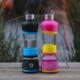 H2O-PAL chytrá láhev pro pravidelné pití, růžovo/žlutá