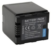 Patona baterie pro Panasonic VBN260 2500mAh - PT1105