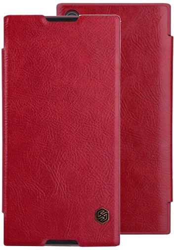 Nillkin Qin Book Pouzdro pro Sony G3221 Xperia XA1 Ultra, Red